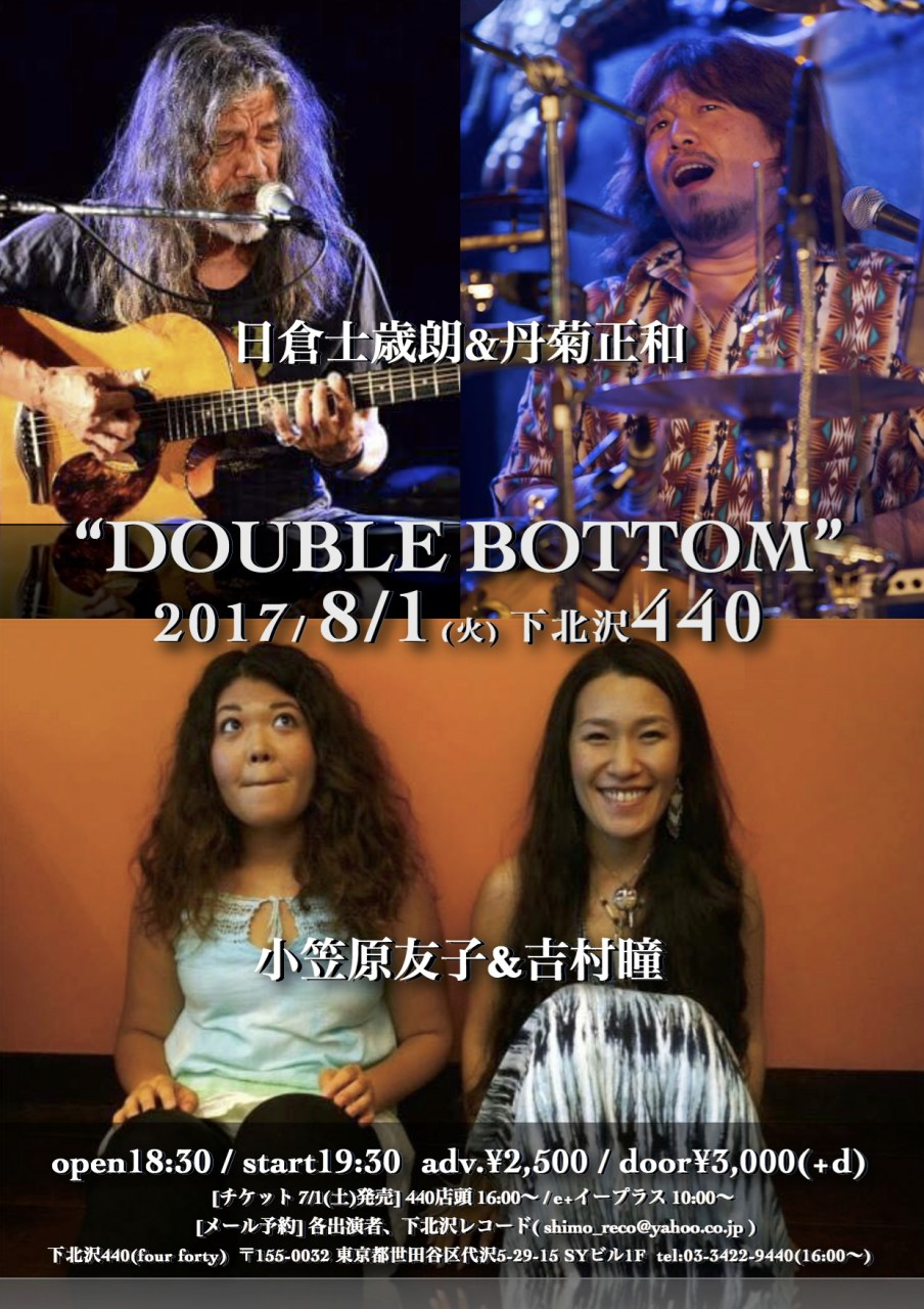 """DOUBLE BOTTOM"""