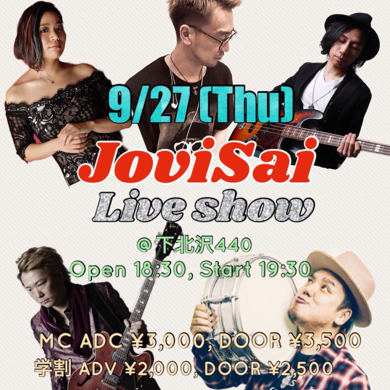 JoviSai Live Show @下北沢440
