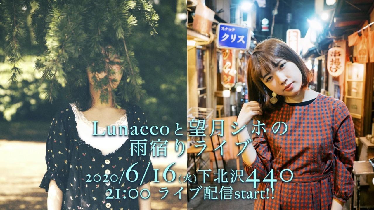 【無観客ライブ配信】「Lunaccoと望月シホの雨宿りライブ」at 下北沢440(four forty)