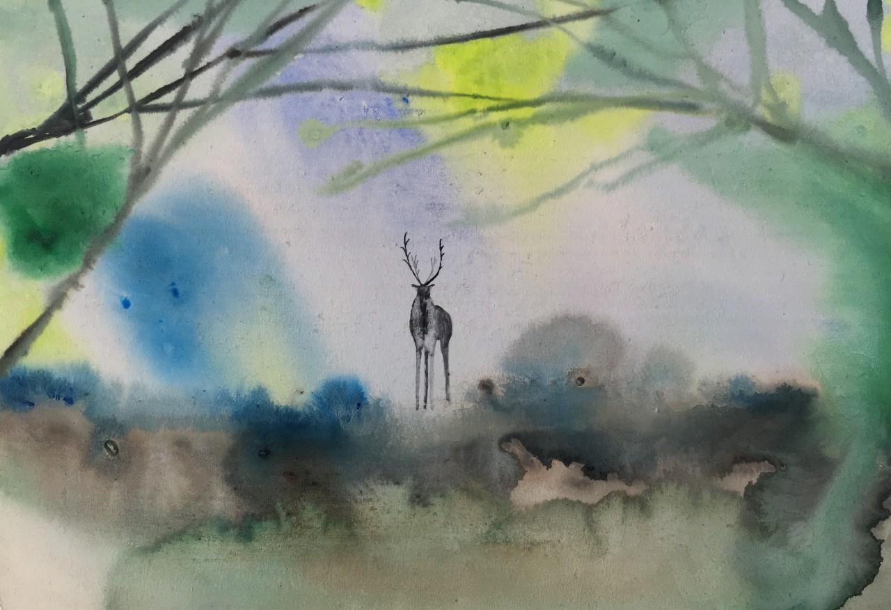 【個展&オーダーペイント】近藤康平 原画展「懐かしい場所へ」
