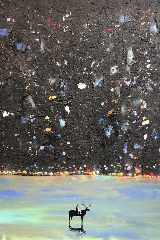 【個展】近藤康平 原画展「懐かしい場所へ」